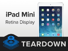 Разбор iPad Mini 2 Retina Display